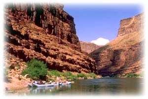 Gay rafting holiday in the Grand Canyon